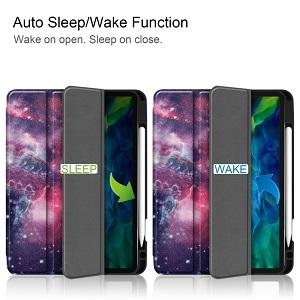 Чехол-книжка  Fabric Denim на Айпад Про 11 inch 2020 -Galaxy Nebula