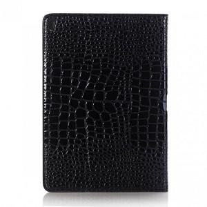 Кожаный чехол Crocodile Texture  черный на iPad Air 2019
