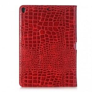 Кожаный чехол Crocodile Texture красный для iPad Air 2019/Pro 10.5