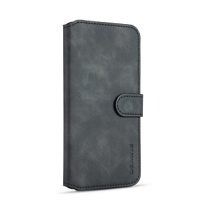 Чехол-книжка DG.MING Retro Oil Side на Samsung Galaxy A10-черный