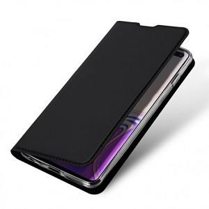 Кожаный чехол-книжка DUX DUCIS на Samsung Galaxy S10+/G975-черный