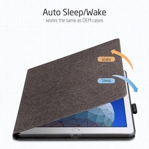Чехол- книжка ESR на iPad Air 2019 10.5 -серый