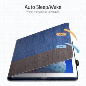 Чехол- книжка ESR Simplicity на iPad Air 2019 10.5-синий