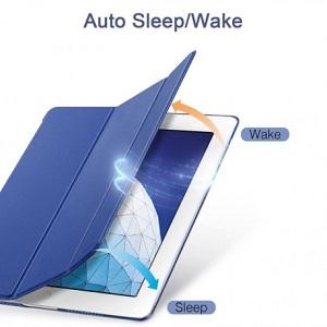 Кожаный чехол ESR Yippee Color  на iPad Air 2019 10.5- синий