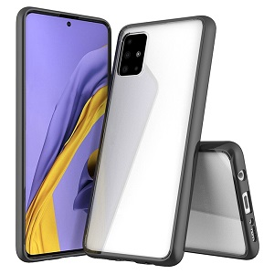 Acrylic + TPU  Case на Samsung Galaxy A51-черный