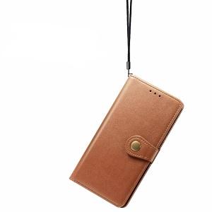 Чехол- книжка Retro Solid Color на Samsung Galaxy S10 Lite-коричневый