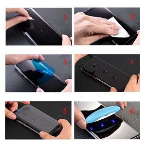 Защитное стекло mocolo 9H 3D Full Screen UV Screen Film для Самсунг С20 Плюс
