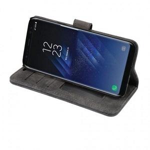 Кожаный чехол  для Samsung Galaxy S8- черный