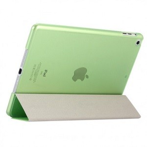 Чехол Silk Texture Three-folding зеленый для iPad 9.7 2017/2018 (A1822/ A1823)