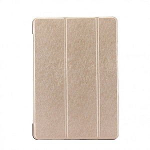 Чехол Silk Texture Three-folding золотой для iPad Air 2019