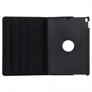 Кожаный чехол Litchi Texture 360 Degree черный для айпад эйр 2019/про 10.5