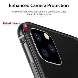 Бампер ESR Edge Guard Aluminum Alloy для Айфон 11 Pro Max -черный