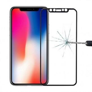 Защитное стекло на iPhone 11 Pro/X/Xs  3D  черное