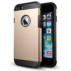 Противоударный золтой чехол на айфон 6с