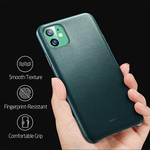 ESR Metro Leather Series на iPhone 11-Pine Green(зеленый)