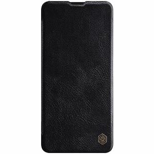 Кожаный чехол-книжка Nillkin Qin Series для Samsung Galaxy S20 Ultra -черный