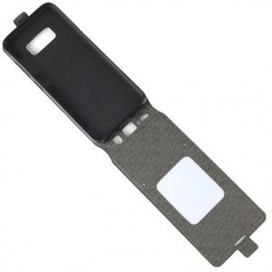 Кожаный флип- чехол на Самсунг  S8