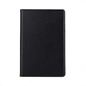Кожаный чехол поворотный на iPad Mini 5 2019/ Mini 4 -черный