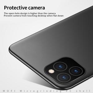 Ультратонкий чехол MOFI Frosted PC для Айфон 11 Про Макс- черный