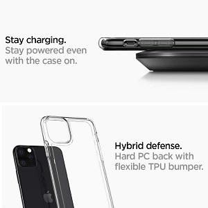 SPIGEN CRYSTAL HYBRID для Apple iPhone 11 Crystal Clear (Прозрачный)