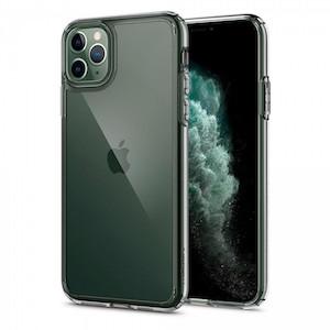 Оригинальный чехол SPIGEN CRYSTAL HYBRID для iPhone 11 PRO Crystal Clear