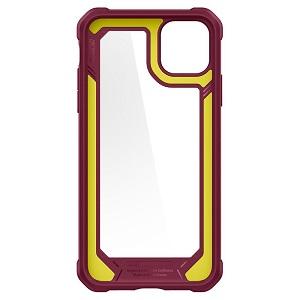 SPIGEN GAUNTLET для Apple iPhone 11 PRO CARBON Iron Red (Железный Красный)