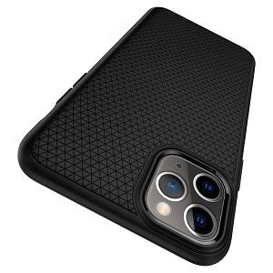 Оригинальный чехол Spigen Liquid Air iPhone 11 Pro Matte Black