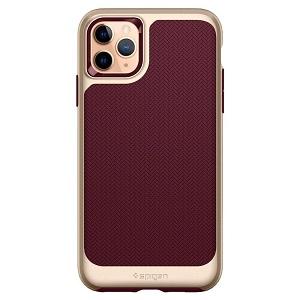 Оригинальный чехол Spigen Neo Hybrid iPhone 11 Pro Max Burgundy