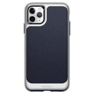 Оригинальный чехол Spigen Neo Hybrid iPhone 11 Pro Max Satin Silver