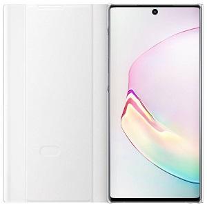 Оригинальный чехол-книжка Clear View Cover для Samsung Galaxy Note 10 (N970) EF-ZN970CWEGRU - White