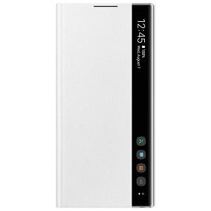Оригинальный чехол-книжка Clear View Cover на Самсунг Гелекси Note 10 (N970) EF-ZN970CWEGRU - White
