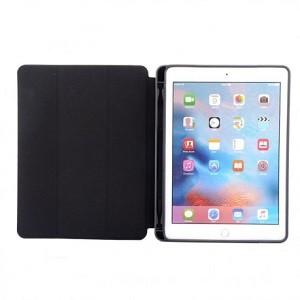 Чехол-книжка  с держателем для стилуса на iPad 9.7 2017 /2018 - черный