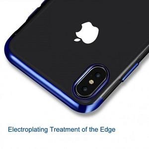 Чехол Electroplating Side TPU для айфон XS Max
