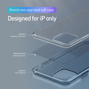 Прозрачный чехол базеус на айфон 11 про макс