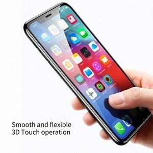Защитное стекло Baseus 0.2mm 9H на iPhone 11 Pro Max/Xs Max черное